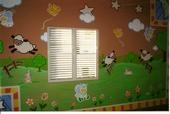 Decoracion Artistica en Cuarto o Cuido Infantil