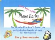 Playa barba     bar & restaurants