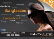 Originales gafas de sol a los mejores precios mayor y detal!!!!