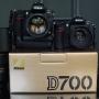 nuevo Nikon D700 cámara digital