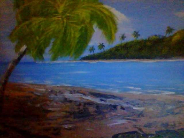 Vendo pintura artesanal yo misa las hago