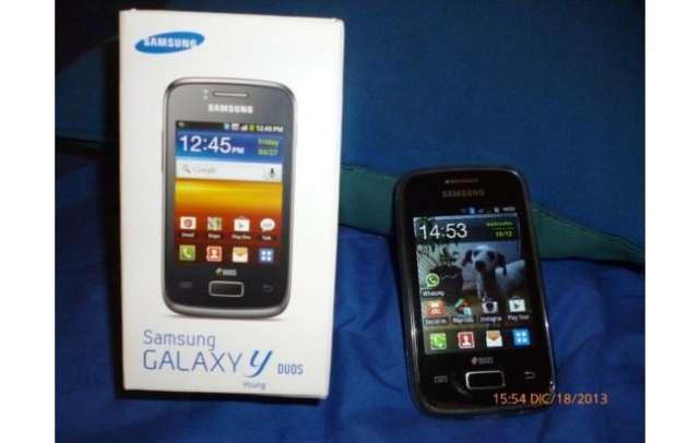 Vendo samsung galaxy y duos s6102 ( 6 meses de uso)