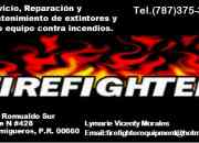 Extintores fire fighter equipment en puerto rico