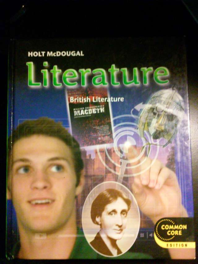 Vendo libro: holt mcdougal literature, grade 12