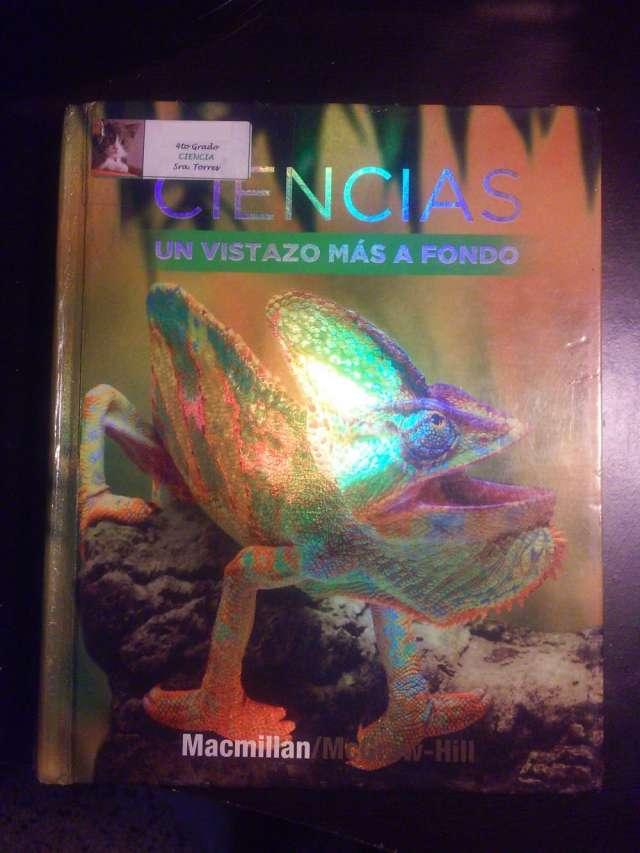 Vendo libro: ciencias 4 '08/un vistazo mas a fondo