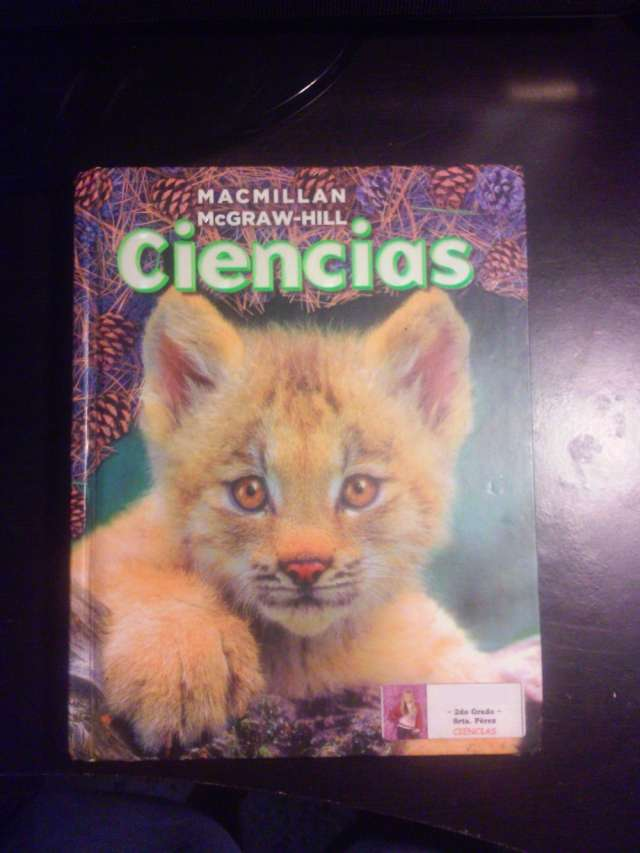 Vendo libro: ciencias grado 2