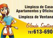 Limpieza de casas, apartamento y oficina