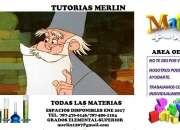 TUTORIAS MERLIN OESTE