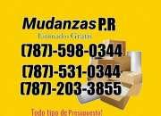 Mudanzasp,r 787-598-0344  estimados gratis recoger enceres