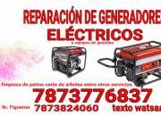 Reparacion de generadores electricos en Yauco PR